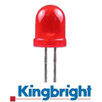 KINGBRIGHT DIAMETRE 8 MM