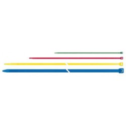 ATTACHE CABLES QUICK 300 x 4,6 mm JAUNE