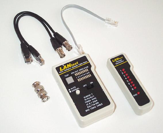 Seeit testeur cable rj45 elecdif pro - Testeur cable rj45 ...